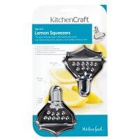 KitchenCraft Lemon Squeezers, 2er Set
