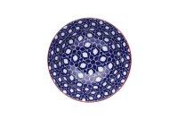 Keramikschale Blue Floral