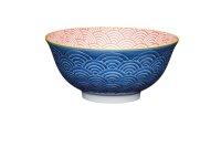 Keramikschale Blue Arched