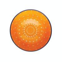 Keramikschale Orange Spotty