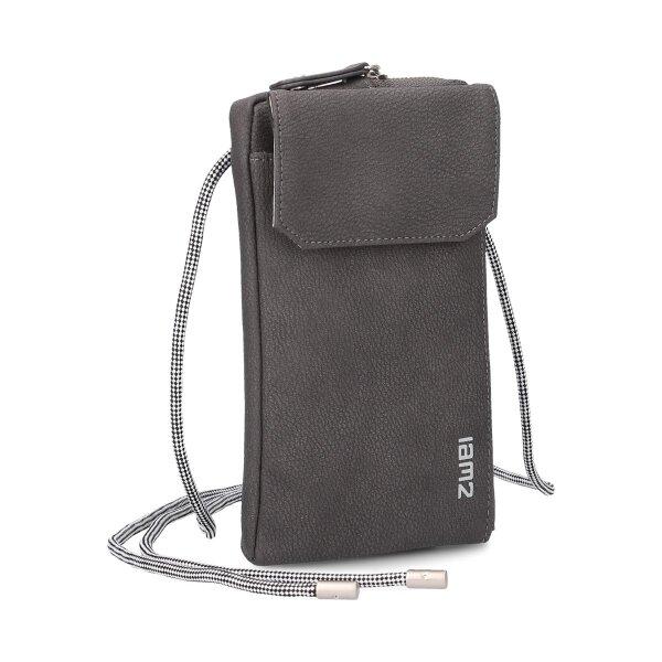 MADEMOISELLE.M Phone Bag MP30 nubuk-stone
