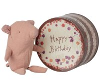 Truffle pig in cake box