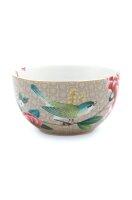 Bowl Blushing Birds Khaki 12cm