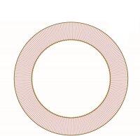 Deep Plate La Majorelle Pink 21.5cm