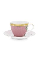 Espresso Cup & Saucer La Majorelle Pink 120ml
