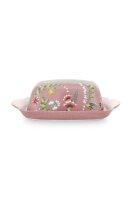 Butter Dish La Majorelle Pink 20x14x6.5cm
