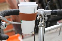 Leder Fahrrad-Becherhalter