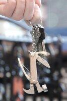 Mini holz Hammer-Anhänger