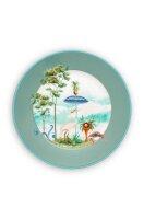 Plate Jolie Blue 21cm
