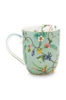 Mug Small Jolie Flowers Blue 145ml