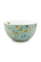 Bowl Jolie Flowers Blue 12cm