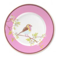 Plate Early Bird Pink 21cm