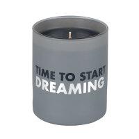 """Raum und Zeit Duftkerze """"Time to start dreaming"""""""