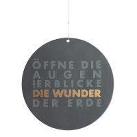 """Raum und Zeit Poesiefensterbild """"Öffne die..."""