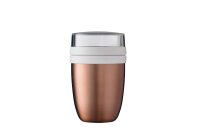 Thermo-Lunchpot Ellipse - rosé gold