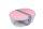 Salatbox Ellipse - nordic pink