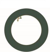 Deep Plate Winter Wonderland Green 21.5cm