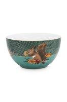 Bowl Winter Wonderland Squirrel Green 18cm