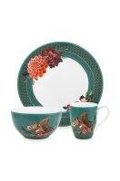 Set/3 Breakfast Set Winter Wonderland