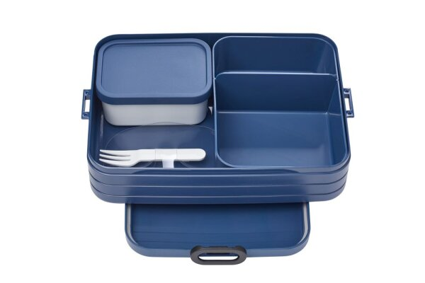 Bento Lunchbox Take a Break large - nordic denim