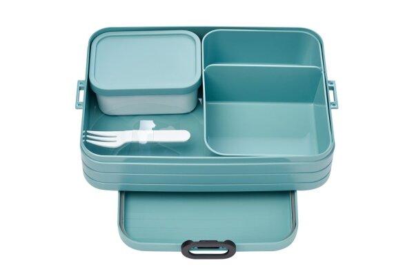 Bento Lunchbox Take a Break large - nordic green
