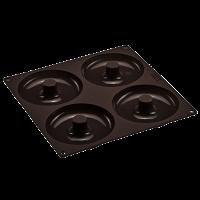 Flexiform Bagels&Cronuts 26x26cm 4fach braun