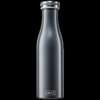 Isolier-Flasche Edelstahl 0,5l anthrazit-metallic