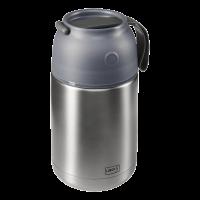 Iso-Pot Edelstahl 700ml grau-metallic