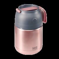 Iso-Pot Edelstahl 500ml rosa-metallic