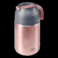 Iso-Pot Edelstahl 700ml rosa-metallic