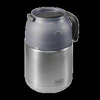 Iso-Pot Edelstahl 500ml grau-metallic