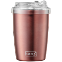 Isolier-Becher Coffee-ToGo 0,3l rosegold