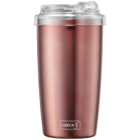 Isolier-Becher Coffee-ToGo 0,4l rosegold