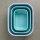 multischüssel cirqula rechteckig 1500 ml - nordic blue